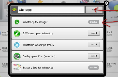 whatsapp en pc