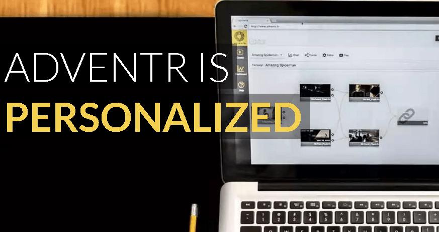 Crea vídeos interactivos con Adventr